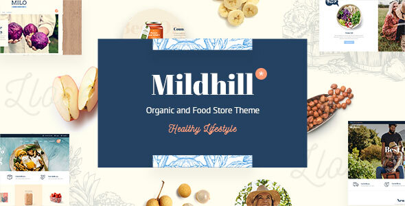 Photo of Get Mildhill – Organic and Food Store Theme Download