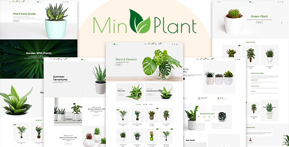 Photo of Get MinPlant – MultiPurpose Plant Store Shopify Theme Download