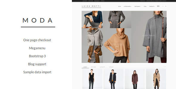 Photo of Get Moda Opencart Theme Download