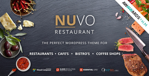 Photo of Get NUVO – Cafe & Restaurant WordPress Theme Download