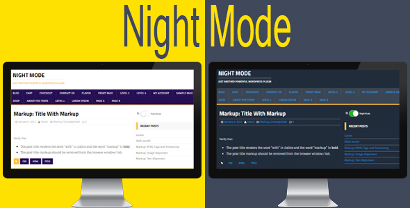 Photo of Get Night Mode for WordPress Download