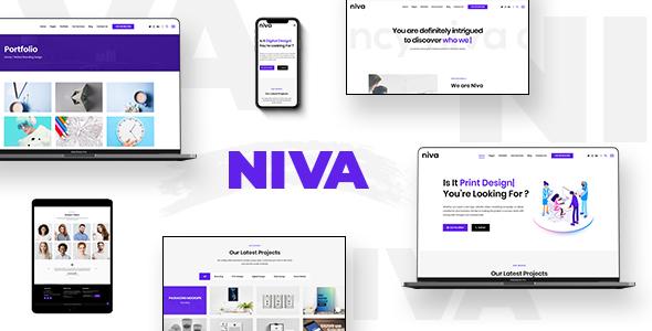 Photo of Get Niva – Creative Agency WordPress Theme Download