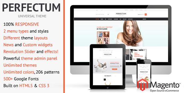 Photo of Get Perfectum – Responsive Magento theme! Download