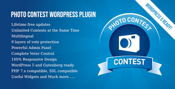 Photo of Get Photo Contest WordPress Plugin Download