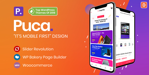 Photo of Get Puca – Optimized Mobile WooCommerce Theme Download