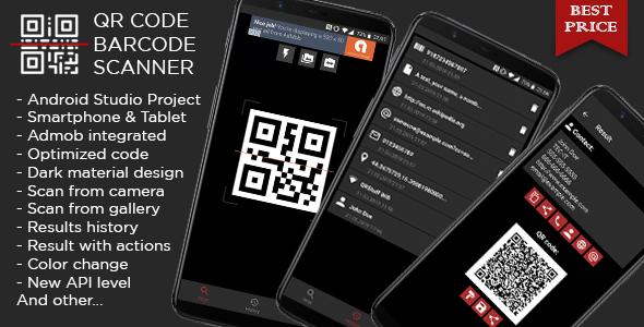 Photo of Get QR code & Barcode Scanner DARK + Admob ads Download