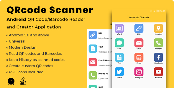 Photo of Get QRcode Scanner | Android QR Code/Barcode Reader and Creator Application Download