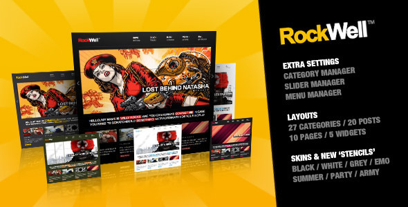 Photo of Get RockWell – Portfolio & Blog WordPress Theme Download