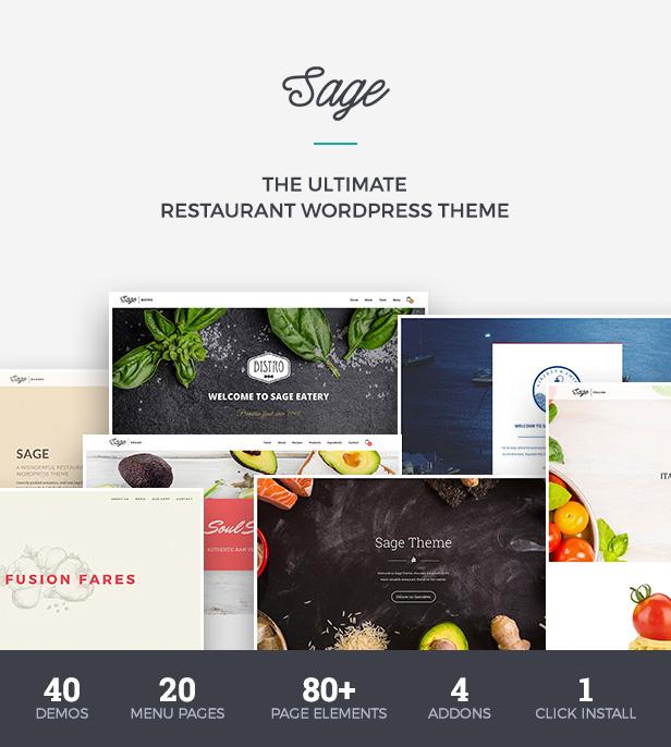 Premium Restaurant WordPress Theme