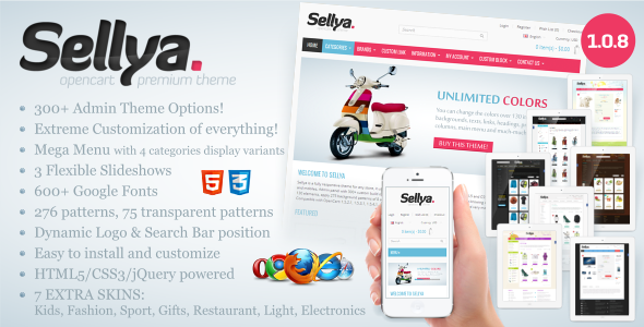 Photo of Get Sellya – Multi-Purpose Responsive OpenCart Theme Download
