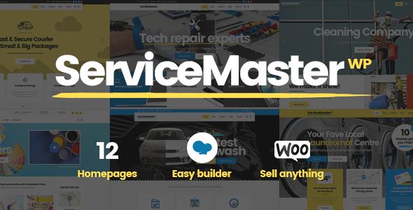 Photo of Get Service Master – Handyman Theme Download
