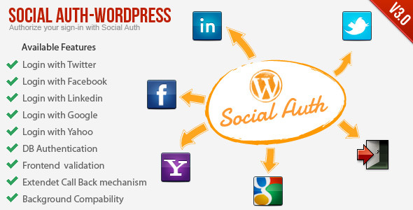 Photo of Get Social Auth WordPress Plugin Download