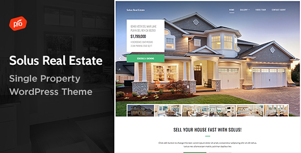 Photo of Get Solus – Single Property Theme Download