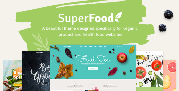 Photo of Get Superfood – Organic Food Products Theme Download