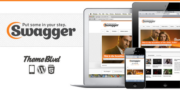 Photo of Get Swagger Responsive WordPress Theme Download