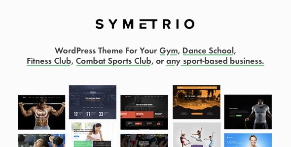 Photo of Get Symetrio – Gym & Fitness WordPress Theme Download