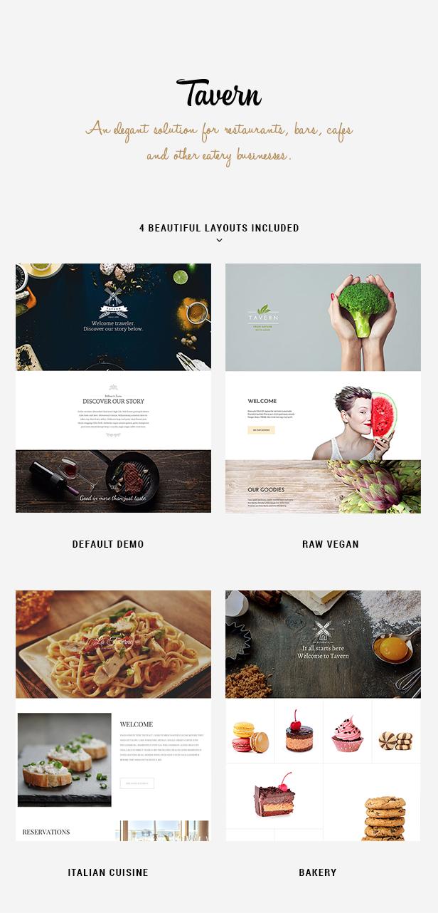 Tavern - Professional Restaurant Theme - 1