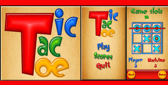 Photo of Get Tic-Tac-Toe Unity3D Source Code Download