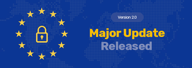 Total GDPR Compliance Sales Promo Banner With Major Update 2.0