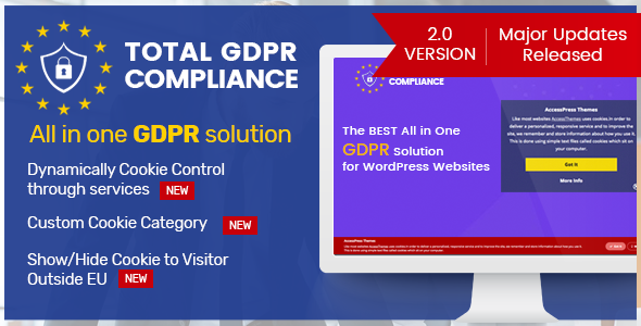Photo of Get Total GDPR Compliance – WordPress Plugin for GDPR Compatibility Download