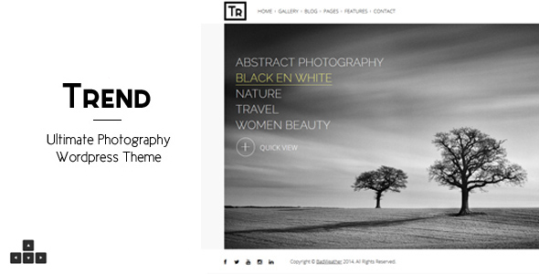 Photo of Get Trend – Photography WordPress Theme Download