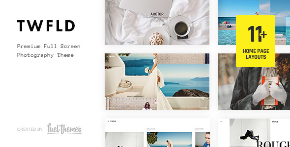 Photo of Get TwoFold – Fullscreen Photography WordPress Theme Download