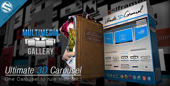 Ultimate 3D Carousel Wordpress Plugin