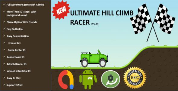 Photo of Get Ultimate Hill Climb Runner Full Adventure Android Project With Adbod Download