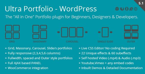 Photo of Get Ultra Portfolio – WordPress Download