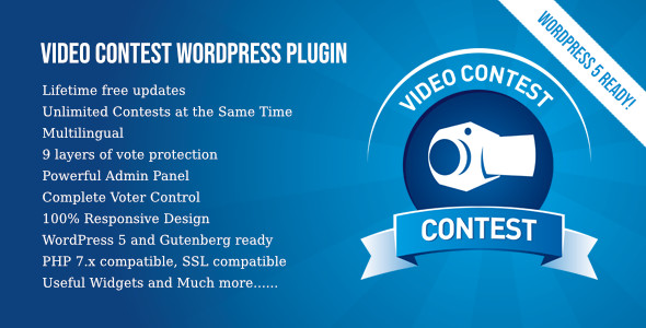 Photo of Get Video Contest WordPress Plugin Download