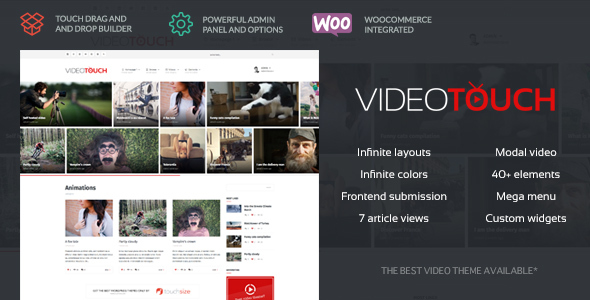 Photo of Get VideoTouch – Video WordPress Theme Download