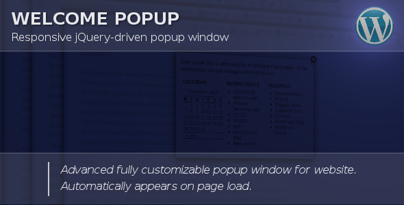 Photo of Get Welcome Popup for WordPress Download
