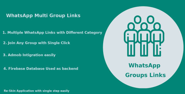 Photo of Get Whats App Multi Group Links – Android Native Code Download