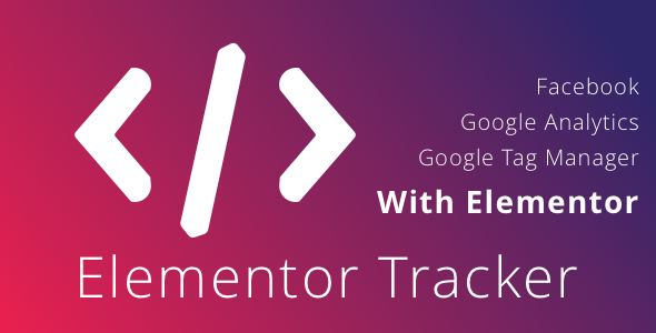 Photo of Get WordPress Elementor Tracker – Track Analytics Events using Elementor Download