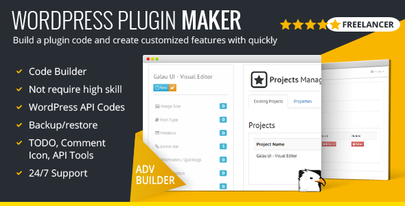Photo of Get WordPress Plugin Maker – Freelancer Version Download
