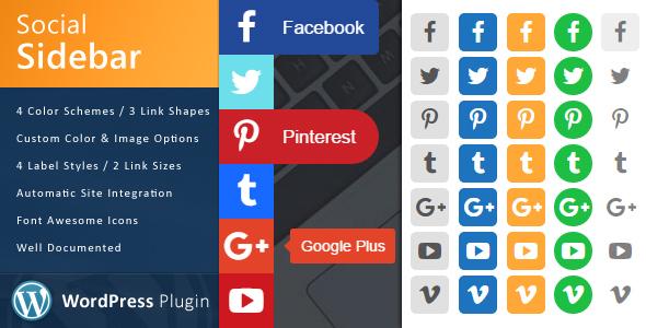 Photo of Get WordPress Social Sidebar Download