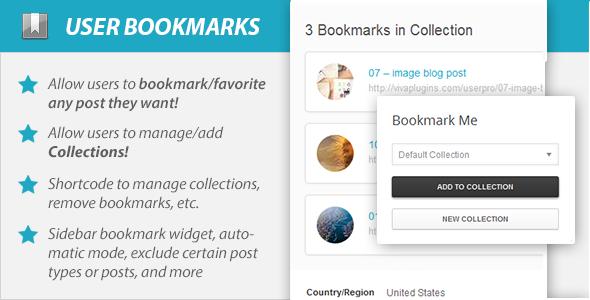 Photo of Get WordPress User Bookmarks for UserPro Download