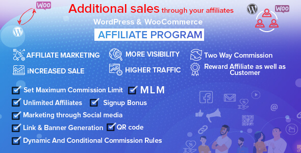 Photo of Get WordPress & WooCommerce Affiliate Program Download
