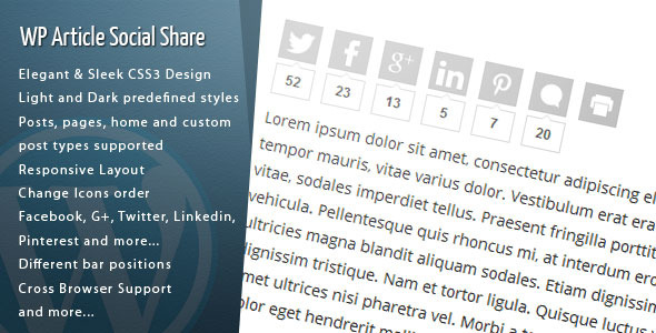 Photo of Get Wordpress Article Social Share Download