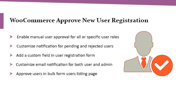 Photo of Get Wordpress & WooCommerce Approve New User Registration Plugin Download