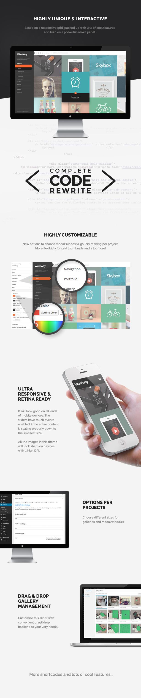 WowWay - Interactive & Responsive Portfolio Theme - 1