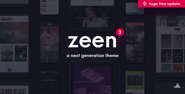 Photo of Get Zeen | Next Generation Magazine WordPress Theme Download