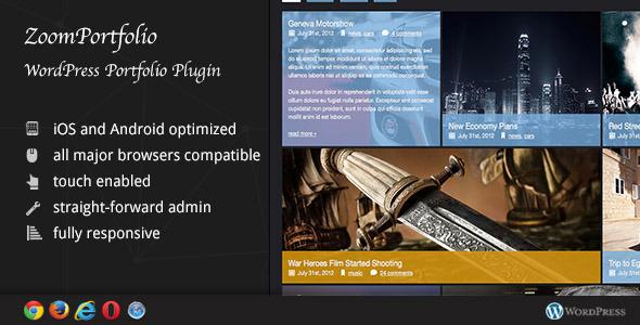 Photo of Get ZoomFolio – WordPress Portfolio Plugin Download