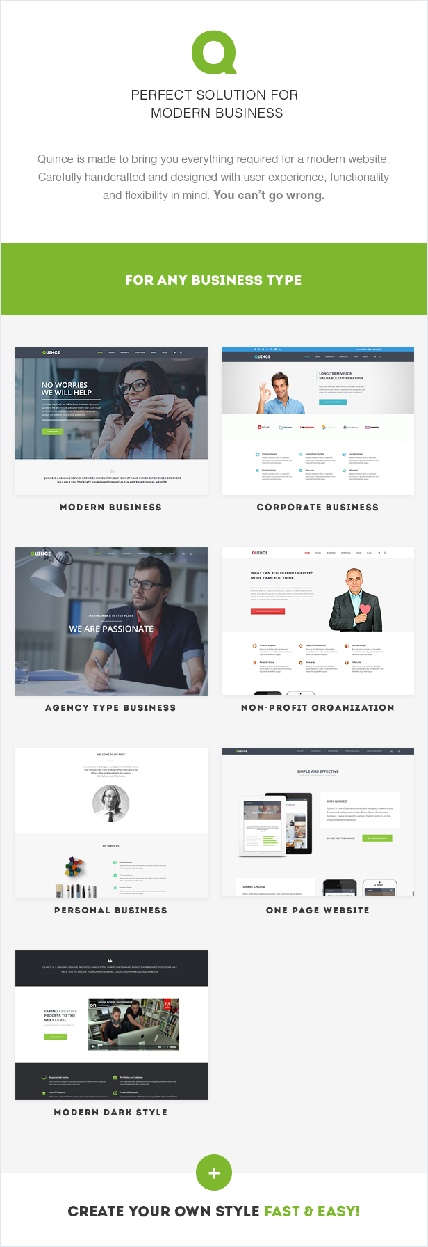 Quince - Modern Business Theme - 7