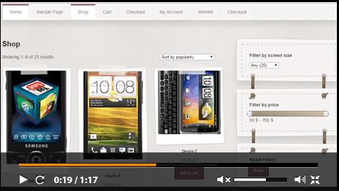 WooCommerce AJAX Product Filter - WordPress Plugin - 1