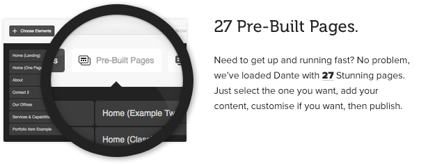 Dante - Responsive Multi-Purpose WordPress Theme - 4