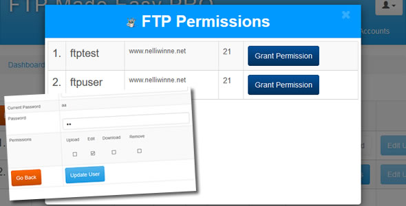 FTP Made Easy PRO - PHP Multiple FTP Manager, Client with Code Editor - 3
