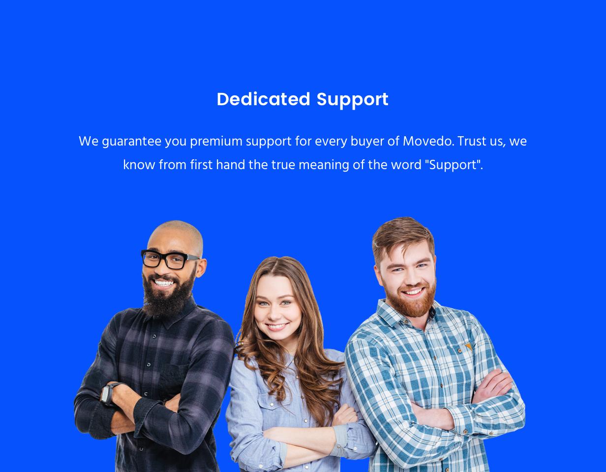 Movedo Support Team