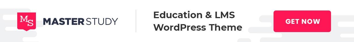 Education WordPress Theme with LMS