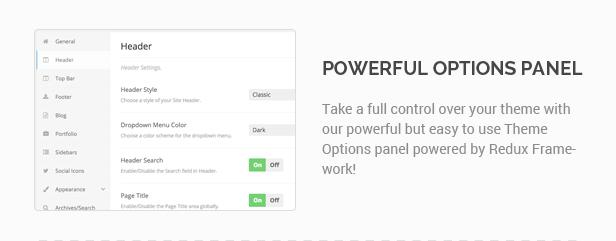 Waxom - Clean & Universal WordPress Theme - 6